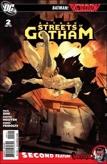 Couverture de Batman: Streets of Gotham (2009) -2- City on fire