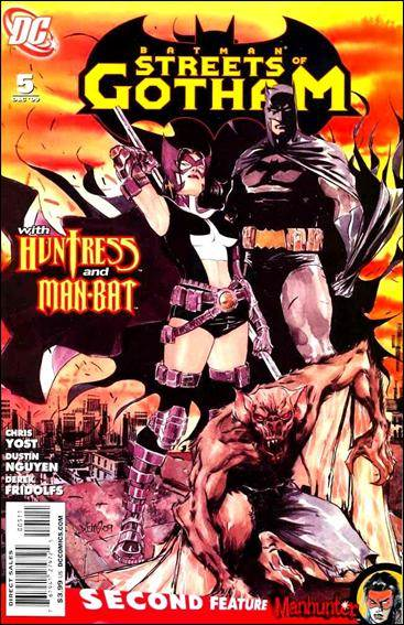 Couverture de Batman: Streets of Gotham (2009) -5- Leviathan part 1