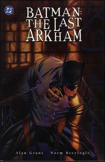 Couverture de Batman: Shadow of the Bat (1992) -INT- The last arkham