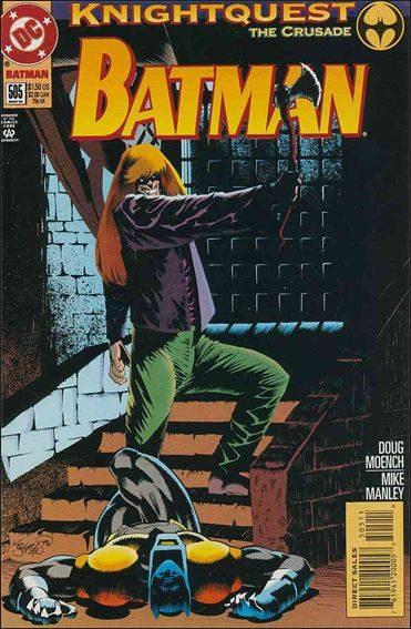 Couverture de Batman Vol.1 (DC Comics - 1940) -505- Bloodkin