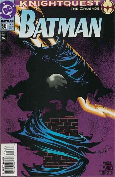 Couverture de Batman Vol.1 (DC Comics - 1940) -506- Malevonlent maniaxe