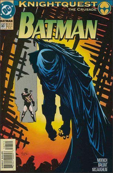 Couverture de Batman (1940) -507- Ballistic