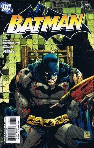 Couverture de Batman Vol.1 (DC Comics - 1940) -674- Batman Dies at Dawn