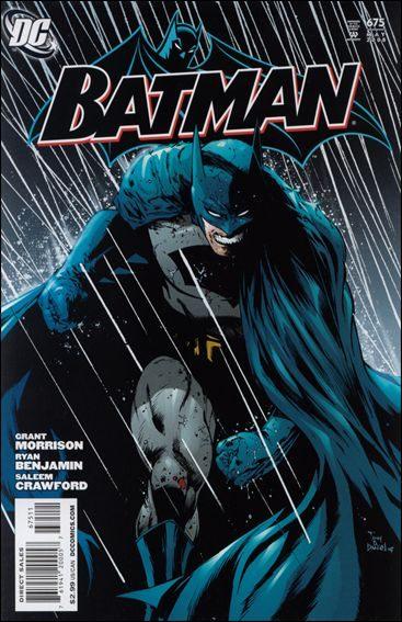 Couverture de Batman Vol.1 (DC Comics - 1940) -675- The Fiend With Nine Eyes