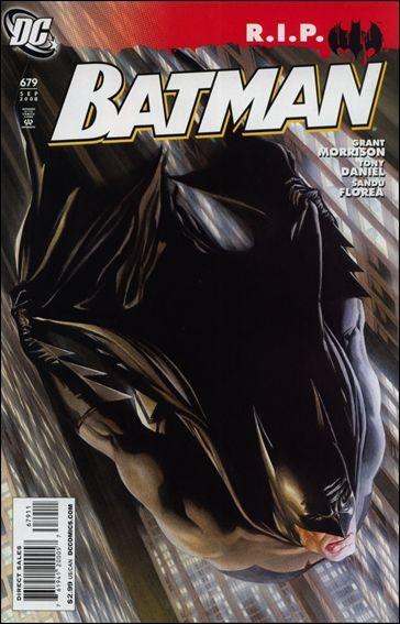 Couverture de Batman Vol.1 (DC Comics - 1940) -679- Batman R.I.P., part 4: Miracle on Crime Alley
