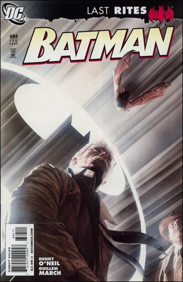 Couverture de Batman Vol.1 (DC Comics - 1940) -684- Batman: Last Rites - Last Days of Gotham, part 2 of 2
