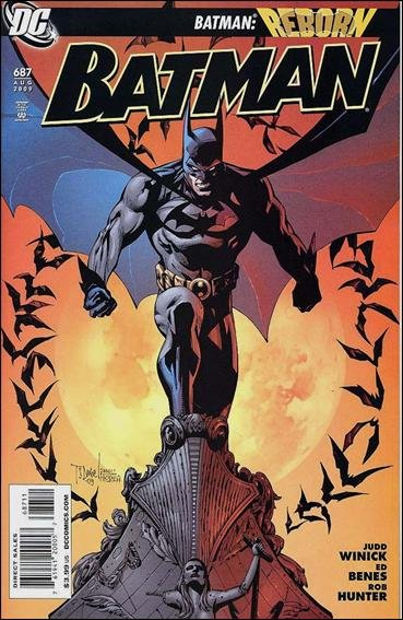 Couverture de Batman Vol.1 (DC Comics - 1940) -687- A Battle within, an Epilogue to Battle for the Cowl