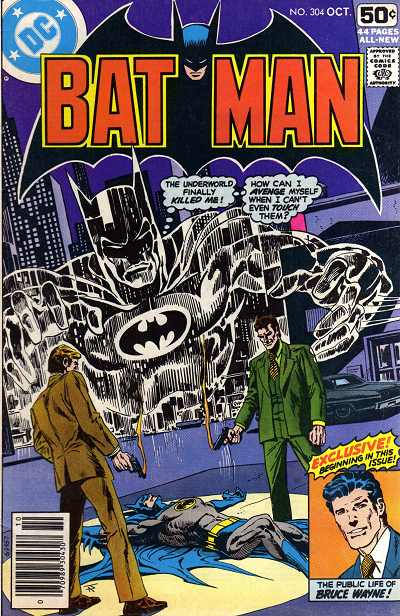 Couverture de Batman (1940) -304- To hell with Batman.. and back