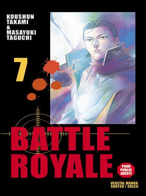 Couverture de Battle Royale -7- Bug