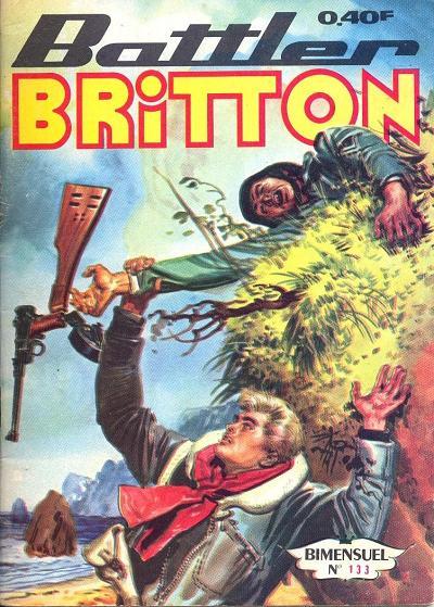 Couverture de Battler Britton -133- Le Tigre de l'Orient