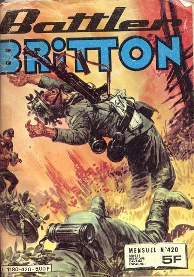 Couverture de Battler Britton -420- Le zeppelin invisible