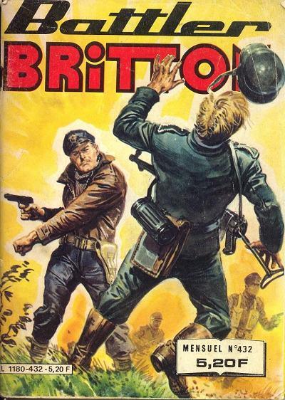Couverture de Battler Britton -432- Les momies se baignent la nuit