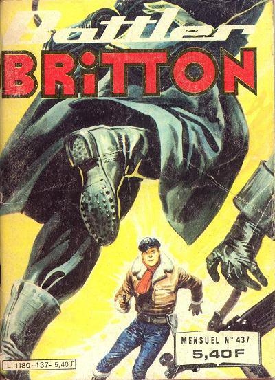 Couverture de Battler Britton -437- Seigneur du désert