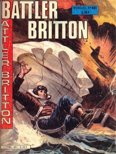 Couverture de Battler Britton -451- Piège dans les glaces