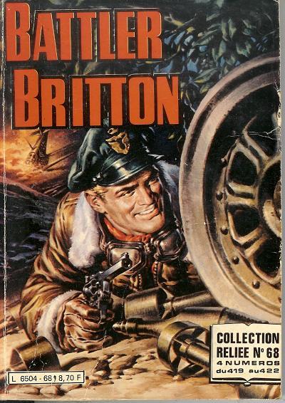 Couverture de Battler Britton (Imperia) -Rec68- Collection Reliée N°68 (du n°419 au n°422)
