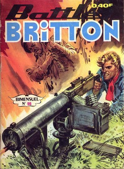 Couverture de Battler Britton -96- Numéro 96