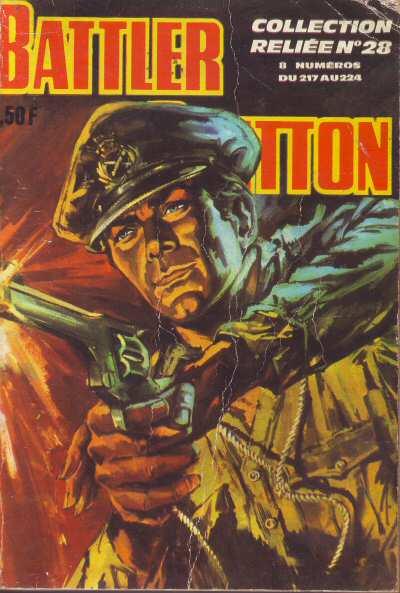 Couverture de Battler Britton -Rec28- Collection Reliée N°28 (du n°217 au n°224)