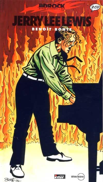 Couverture de BD Rock - Jerry Lee Lewis