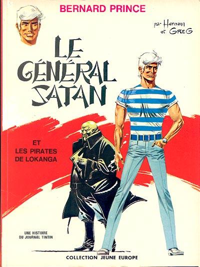 Couverture de Bernard Prince -1- Le Général Satan
