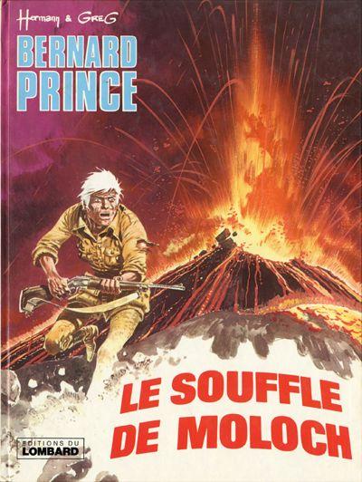 Couverture de Bernard Prince -10- Le souffle de Moloch
