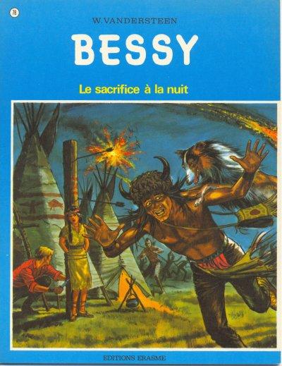 Couverture de Bessy -78a- Le sacrifice à la nuit