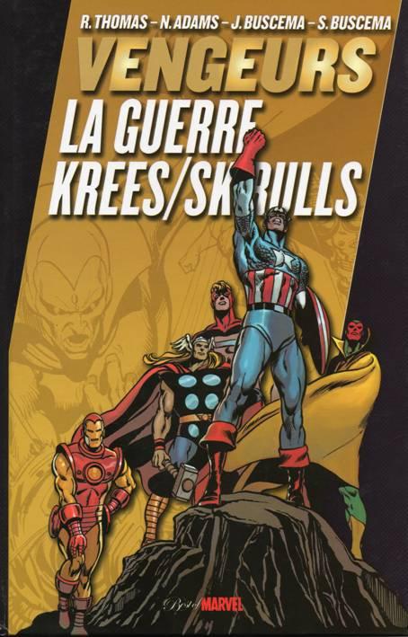 Couverture de Best of Marvel -18- Vengeurs : La Guerre Krees/Skrulls