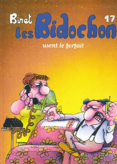 Couverture de Les bidochon (France Loisirs - Album Double) -9- Les Bidochon usent le forfait / Les Bidochon voient tout, savent tout