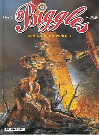 Couverture de Biggles -19- Feu sur la Provence 1