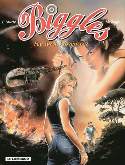Couverture de Biggles -20- Feu sur la Provence 2