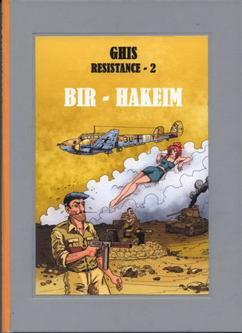 Couverture de Résistance (Ghis) -2- Bir-Hakeim