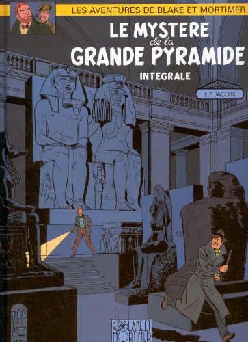 Couverture de Blake et Mortimer -INT2- Le Mystère de la Grande Pyramide - Intégrale