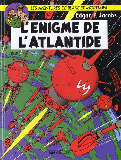 Couverture de Blake et Mortimer -7- L'énigme de l'Atlantide