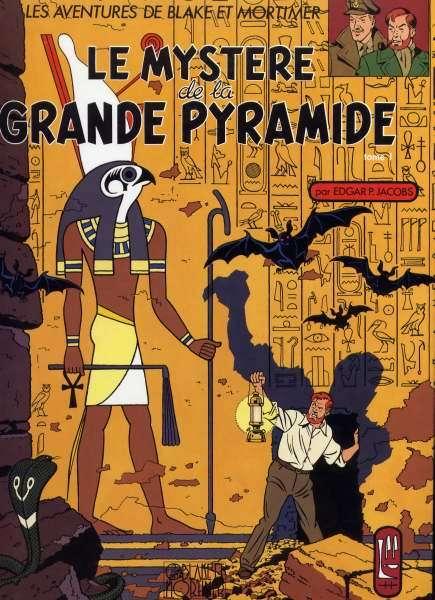 Couverture de Blake et Mortimer (France Loisirs) -4- Le Mystère de la Grande Pyramide - Tome 1