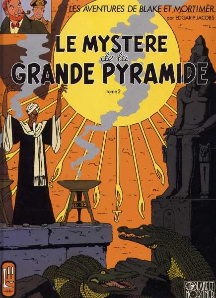 Couverture de Blake et Mortimer (France Loisirs) -5- Le Mystère de la Grande Pyramide - Tome 2