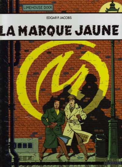 Couverture de Blake et Mortimer (France Loisirs) -6- La marque jaune