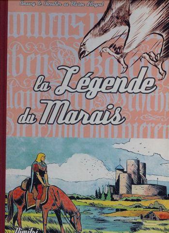 Couverture de Blason d'Argent -11- La Légende du Marais