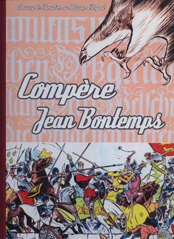 Couverture de Blason d'Argent -9- Compère Jean Bontemps