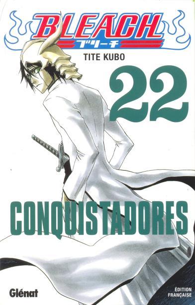 Couverture de Bleach -22- Conquistadores
