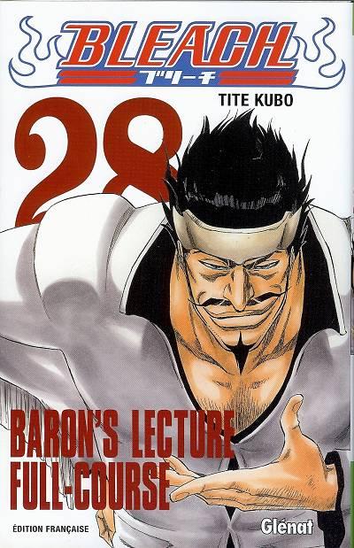 Couverture de Bleach -28- Baron's Lecture Full-Course