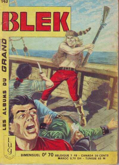 Couverture de Blek (Les albums du Grand) -143- Numéro 143