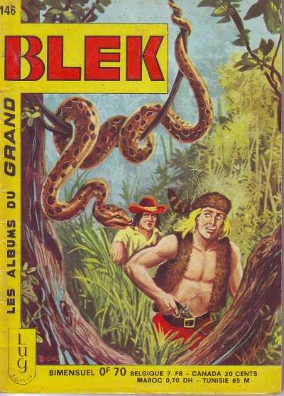 Couverture de Blek (Les albums du Grand) -146- Numéro 146