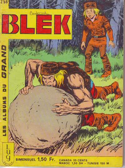 Couverture de Blek (Les albums du Grand) -256- Numéro 256