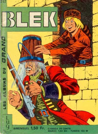 Couverture de Blek (Les albums du Grand) -257- Numéro 257
