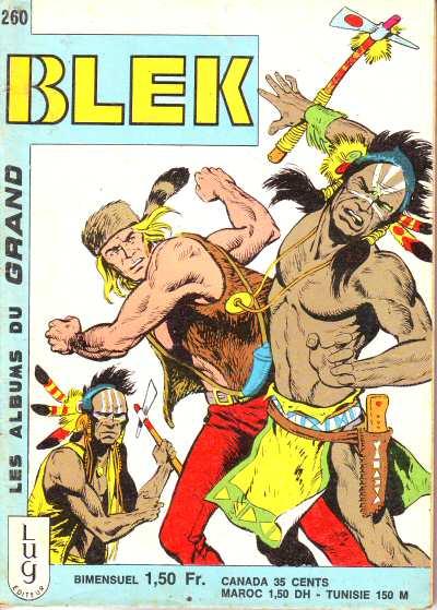 Couverture de Blek (Les albums du Grand) -260- Numéro 260