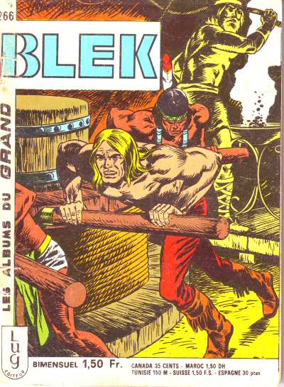 Couverture de Blek (Les albums du Grand) -266- Numéro 266