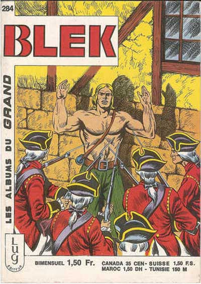 Couverture de Blek (Les albums du Grand) -284- Numéro 284