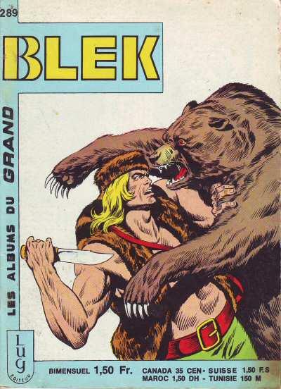 Couverture de Blek (Les albums du Grand) -289- Numéro 289