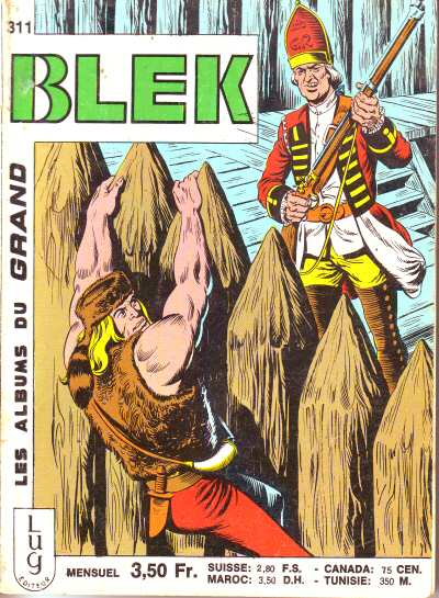 Couverture de Blek (Les albums du Grand) -311- Numéro 311