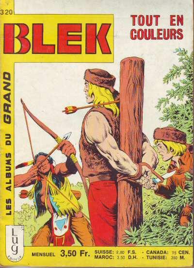 Couverture de Blek (Les albums du Grand) -320- Numéro 320