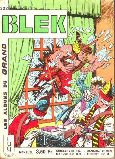 Couverture de Blek (Les albums du Grand) -322- Numéro 322
